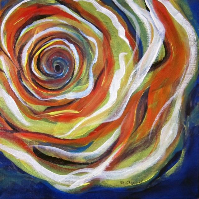 Abstract Rose (gifted)