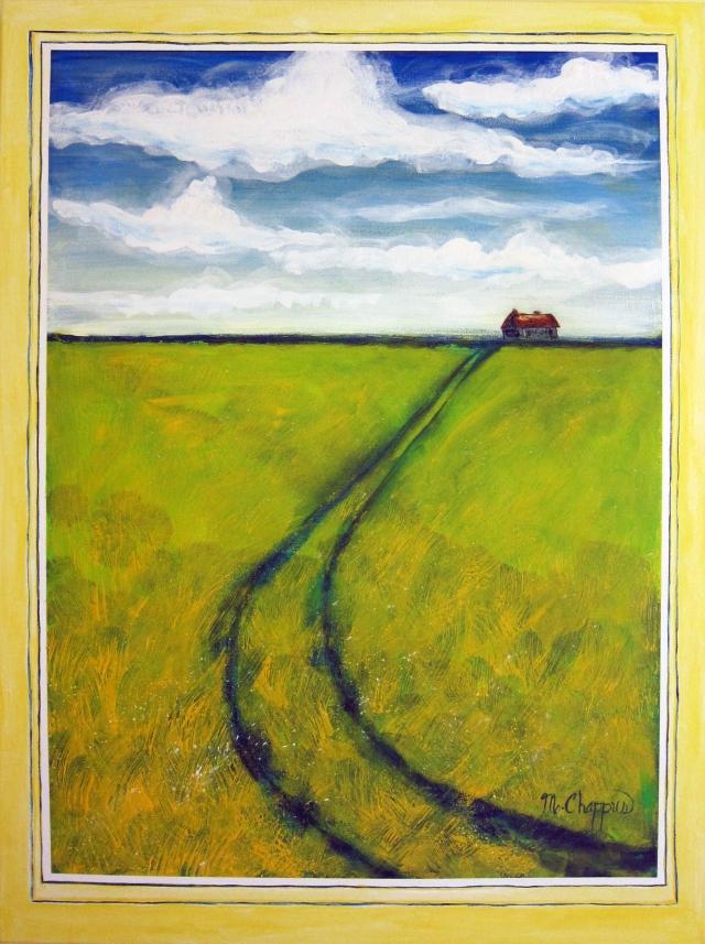 Alberta Canola Field 30x40 $250