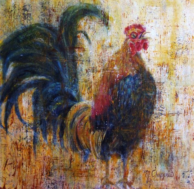 Rooster #1 (24X24)