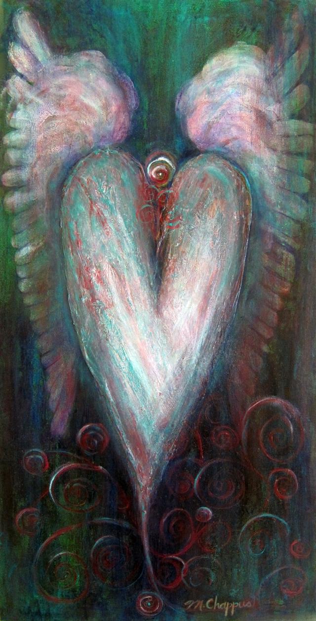 Soaring Heart 18x36 $200
