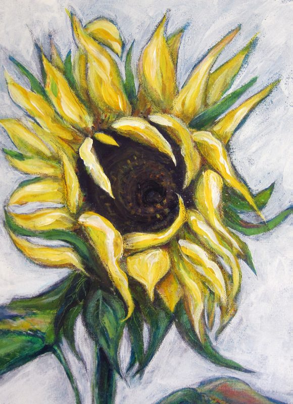 Sunflower #3 (detail)