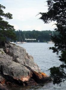 Here's Guinevere as seen from Beaurivage Island National Park