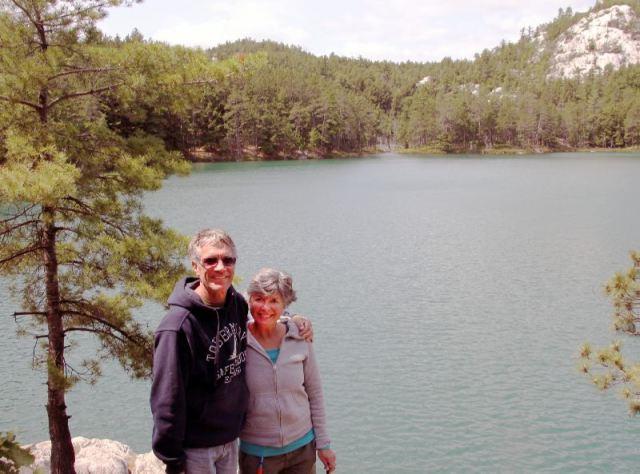 Rick and Me at Topaz Lake