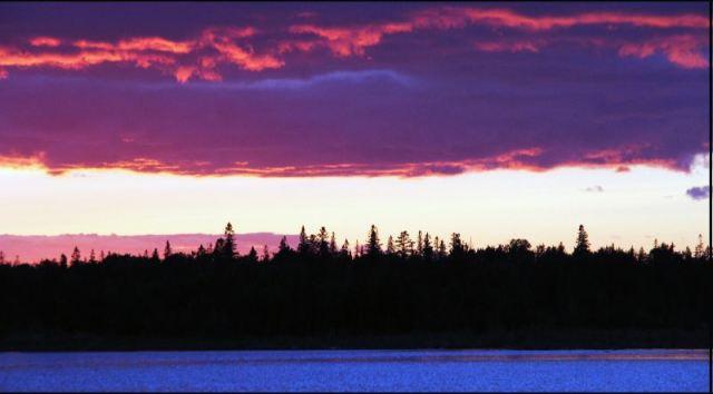 Sunset at Club Island