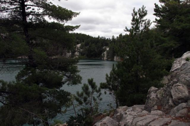 Topaz Lake - One of the places where the Group of Seven used to camp and paint.