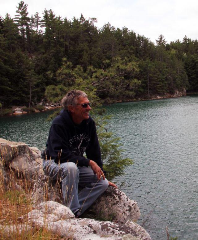 Rick is Enjoying the Beauty of Topaz Lake