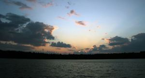 Sunset at Clapperton Island