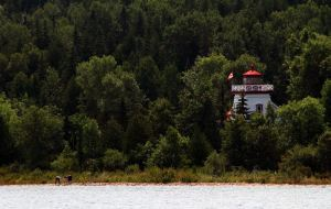 Lighthouse Just Outside Gore Bay