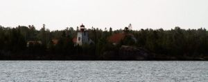 Lighthouse En Route to Presque Isle