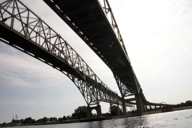 Sarnia to Port Huron Bridge