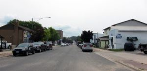 Main Street of Gore Bay