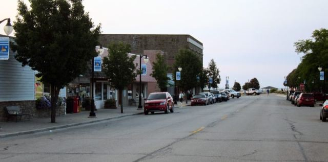The Main Street Looking Toward the Harbour